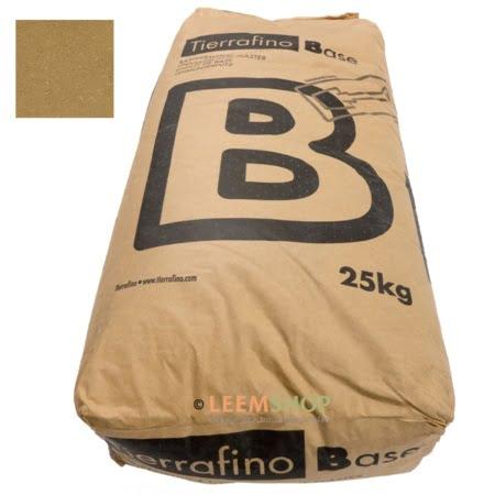 Tierrafino Base Droge BRUIN basisleem met stro 25 kilo