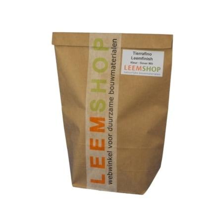 Tierrafino Leemfinish, proefverpakking