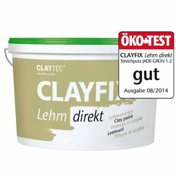 Claytec Clayfix Structuur Leemverf emmer kleuren